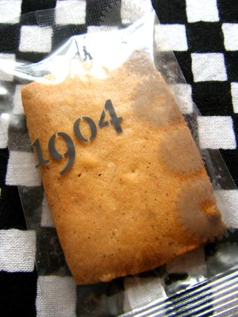 『パティスリー1904』のサブレ バニラ
