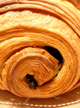 『パリセヴェイユ』のパン オ ショコラ