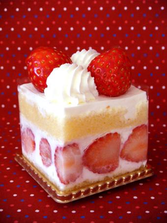 『資生堂パーラー』の苺のショートケーキ