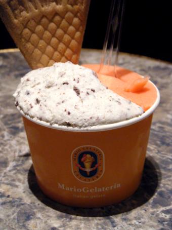 『マリオジェラテリア』のチョコミント