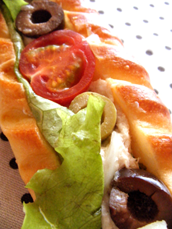『ラ ブティック ドゥ ジョエル・ロブション』のニース風サンドイッチ