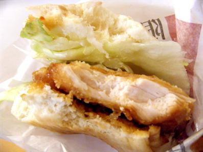 『ケンタッキー』の油淋鶏サンド