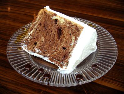 『モリタコーヒー』のシフォンケーキ