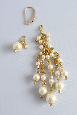Pearl&BeadsTassel-P-3
