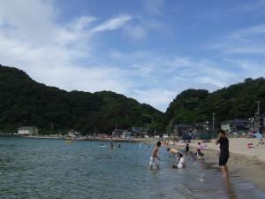 竹野海水浴場の近くのなんとか海水浴場