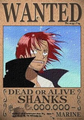 赤髪のシャンクス8