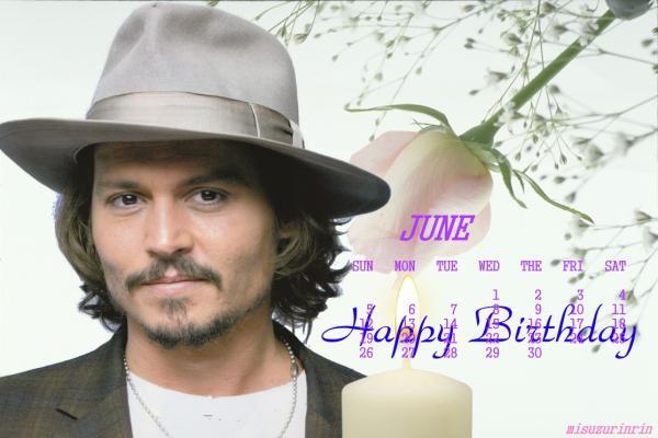 カレンダー2011年6月用ジョニー