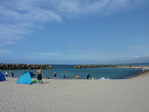 皆生温泉日本海