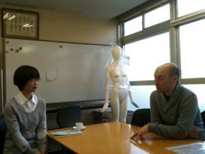 近藤保先生と小泉さん