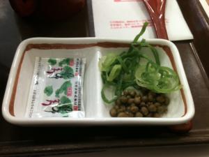 山葵と粒山椒