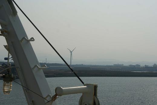 もうすぐ秋田港