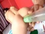 ヒトミのH動画観察日記♪ : 勝つのはどっち!?チアガール対抗浣腸してツイスターゲーム!
