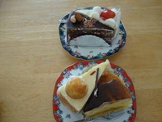 紋父誕生日ケーキ