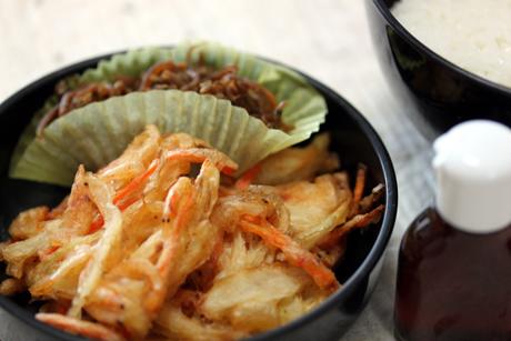 桜海老のかき揚げ丼