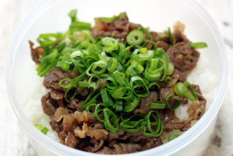 牛肉の甘辛丼
