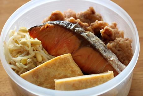 鮭から弁当