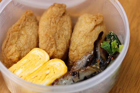 いなり寿司弁当3
