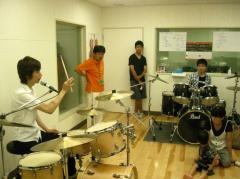 20090718 ドラムクリニック