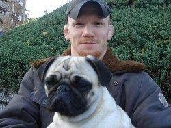 Joachim and dog