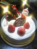 07Cristmasケーキ