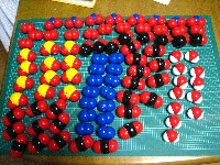 もし原分子模型