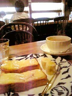 トンボロ クロックムッシュ+カフェオレ