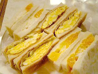 はまの屋 サンドゥイッチセット(玉子+フルーツ)