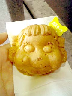 FUJIYA ペコちゃん焼き