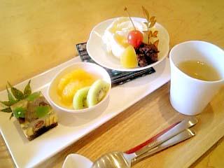 一六茶寮 季節の上生菓子プレート