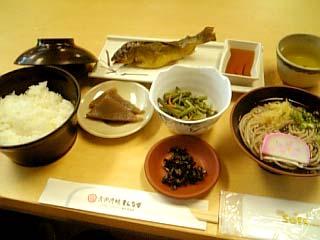 祖谷渓谷 定期観光昼食