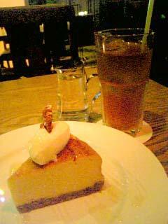 mother kurkku チーズケーキ+オーガニックアールグレイ