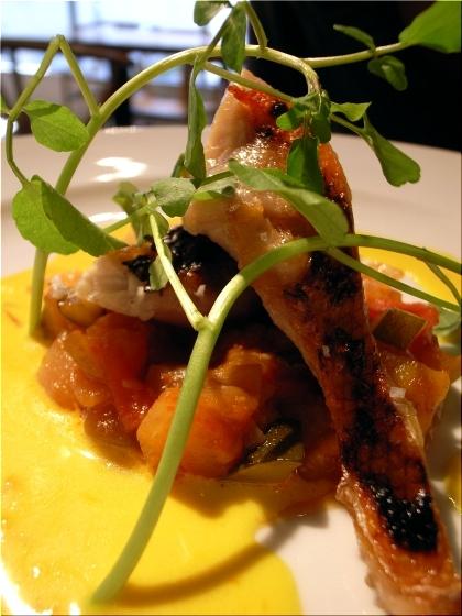 セルヴァッジョ 魚料理