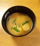 ニラ味噌汁