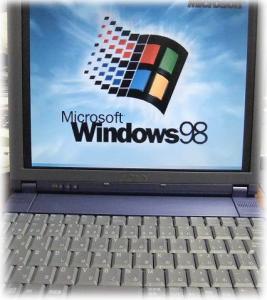 windows98マシン