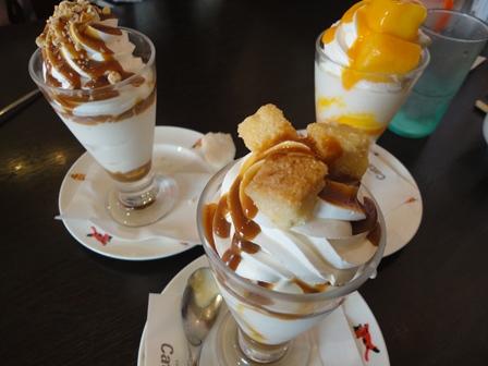 キャッツカフェ パフェ食べ放題08