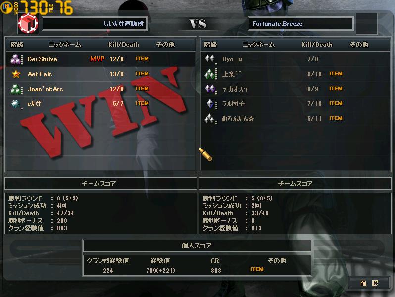 ctlw 1回戦