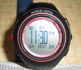 アレス GPS