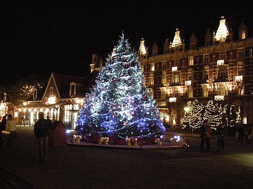 ホテルヨーロッパとツリー