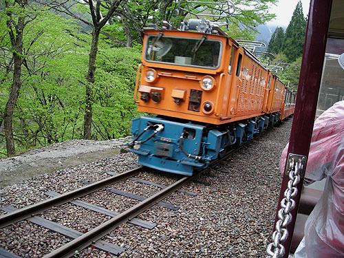 ☆黒部峡谷鉄道⑨