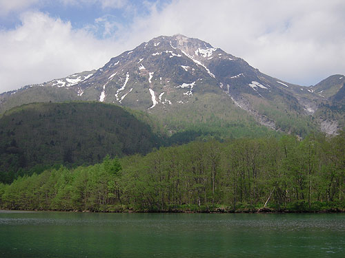 大正池と焼岳①