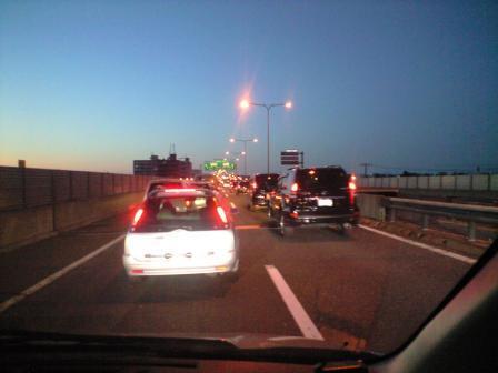 札樽道渋滞