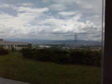 六甲山方面一望