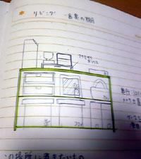手作りのものを記録するノートです。