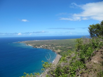 the View from the Kalaupapa cliff
