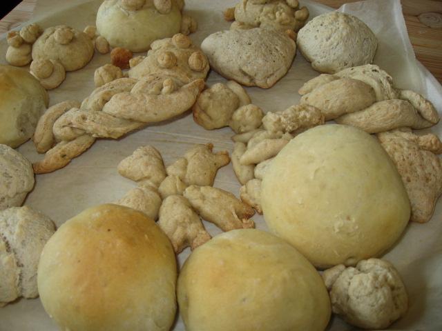 パン作り-完成