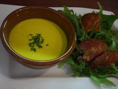 前菜スープ
