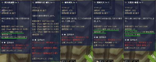12級剣スキル