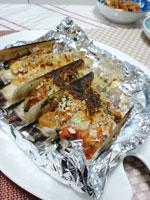 マテ貝のパン粉焼きの画像