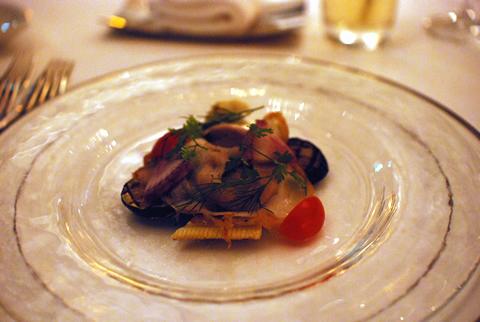 青山エリュシオンハウス 一軒家レストラン イタリアン 冷製 野菜