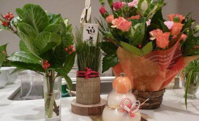 お正月の花たち[1]